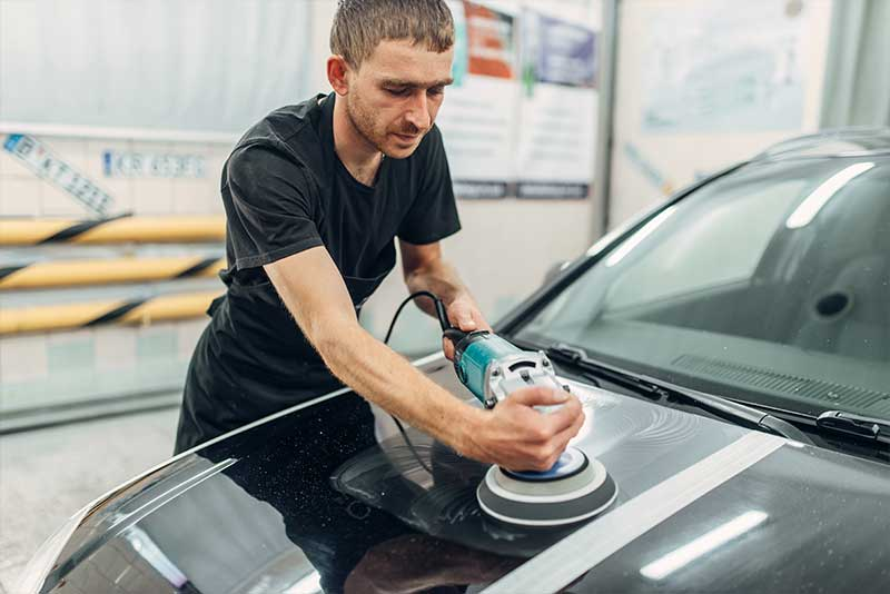 Make Your Car Like New with Paint Correction