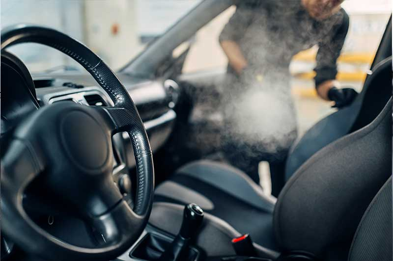 Car Ozone Oder Treatment & Odor Removal Service in Calgary